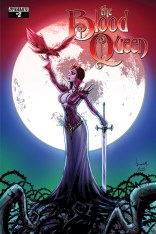 BLOOD QUEEN #2 GARZA COVER COVER